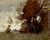 Paul Desire Trouillebert Autumn In Candes painting