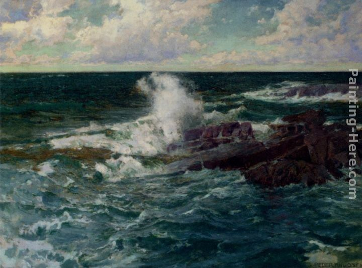 Peder Knudsen Breaking Waves