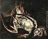 Peeter Boel Still-Life with Dead Wild-Duck painting