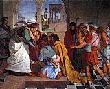 Peter von Cornelius The Recognition of Joseph by his Brothers painting