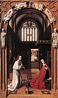 Petrus Christus Annunciation painting