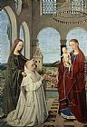 Petrus Christus Madonna and Child painting