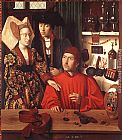 Petrus Christus St Eligius in His Workshop painting