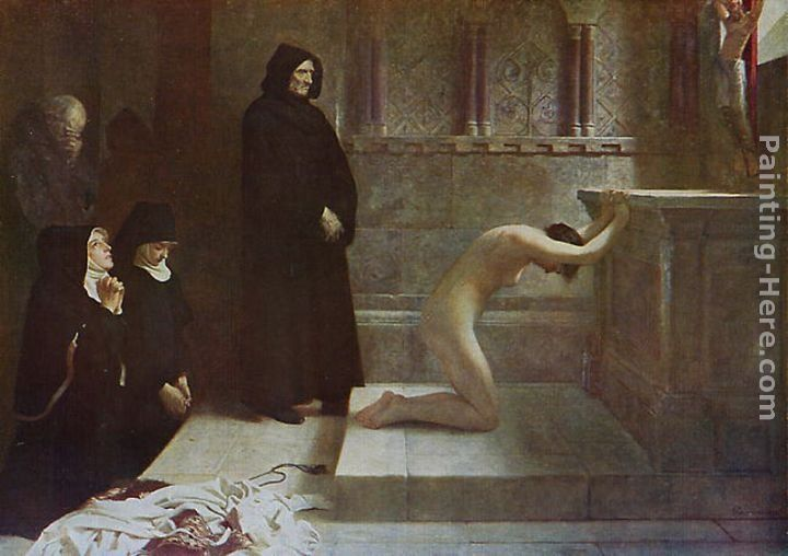 Philip Hermogenes Calderon St Elizabeth of Hungary's Great Act of Renunciation