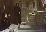 Philip Hermogenes Calderon St Elizabeth of Hungary's Great Act of Renunciation painting
