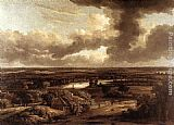 Philips Koninck Dutch Landscape Viewed from the Dunes painting