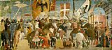 Piero della Francesca Battle between Heraclius and Chosroes painting