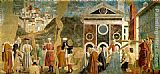 Piero della Francesca Discovery and Proof of the True Cross painting