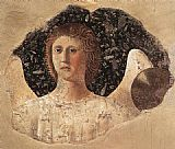 Piero della Francesca Head of an Angel painting