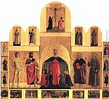 Piero della Francesca Polyptych of the Misericordia painting