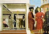 Piero della Francesca The Flagellation painting
