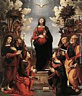 Piero di Cosimo Immaculate Conception with Saints painting