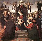 Piero di Cosimo Mystical Marriage of St Catherine of Alexandria painting