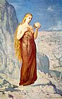 Pierre Cecile Puvis de Chavannes Mary Magdalene at St. Baume painting
