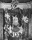 Pierre Etienne Monnot Monument of Pope Gregory XV painting