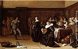 Pieter Codde Musical Company painting