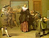 Pieter Codde The Meagre Company painting