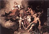 Pieter Lastman Juno Discovering Jupiter with Io painting
