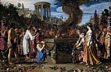 Pieter Lastman Orestes and Pylades Disputing at the Altar painting