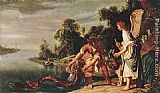 Pieter Lastman The Angel and Tobias with the Fish painting