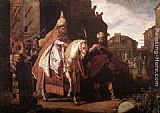 Pieter Lastman The Triumph of Mordecai painting