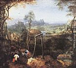 Pieter the Elder Bruegel Magpie on the Gallow painting