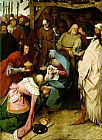 Pieter the Elder Bruegel The Adoration of the Kings painting