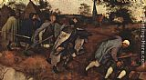 Pieter the Elder Bruegel The Parable of the Blind Leading the Blind painting