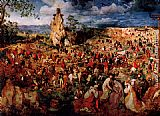 Pieter the Elder Bruegel The Procession to Calvary painting