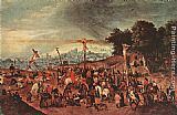 Pieter the Younger Brueghel Crucifixion painting