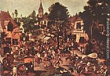 Pieter the Younger Brueghel Village Feast painting