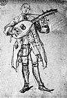 Pietro Longhi Lute Player painting