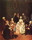 Pietro Longhi Patrician Family painting