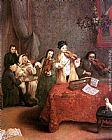 Pietro Longhi The Concert painting