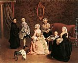 Pietro Longhi The Little Concert painting