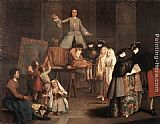 Pietro Longhi The Tooth Puller painting