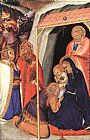 Pietro Lorenzetti Adoration of the Magi painting