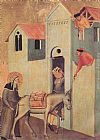 Pietro Lorenzetti Beata Umilta Transport Bricks to the Monastery painting