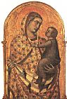 Pietro Lorenzetti Madonna and Child painting