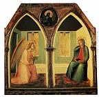 Pietro Lorenzetti The Annunciation painting