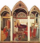 Pietro Lorenzetti The Birth of Mary painting