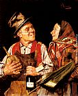 Pompeo Massani The Wine Merchant painting