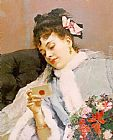 Raimundo de Madrazo y Garreta The Love Letter painting