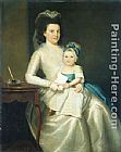 Ralph Earl Lady Williams and Child painting