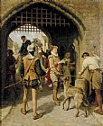 Ralph Hedley The City Gate painting