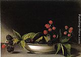 Raphaelle Peale Blackberries painting