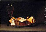 Raphaelle Peale Cake and Wine painting