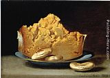 Raphaelle Peale Cheese and Three Crackers painting