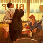 Raymond Leech A Brief Encounter painting