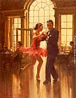 Raymond Leech Dance To The Music painting